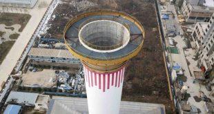 La Cina costruisce il più grande purificatore d'aria del mondo