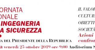 7ª GIORNATA NAZIONALE DELL'INGEGNERIA DELLA SICUREZZA