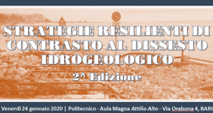 """""""Strategie resilienti di contrasto al dissesto idrogeologico"""" 2^ Edizione"""