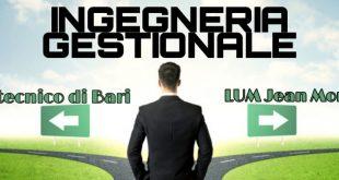 Bari: La LUM sfida il Politecnico. Pronto un corso in Ingegneria Gestionale