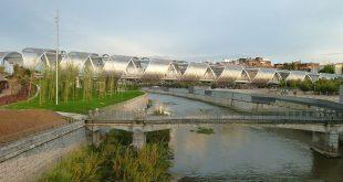 Il Ponte Arganzuela, un ottimo compromesso tra ingegneria, architettura e paesaggio.