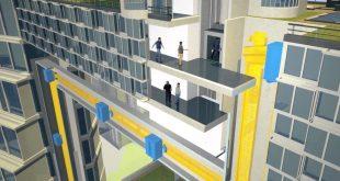 Installato in Italia il primo ascensore a levitazione magnetica del mondo